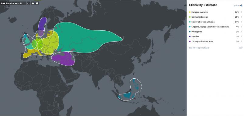 23andMe vs AncestryDNA - AncestryDNA ethnicity update