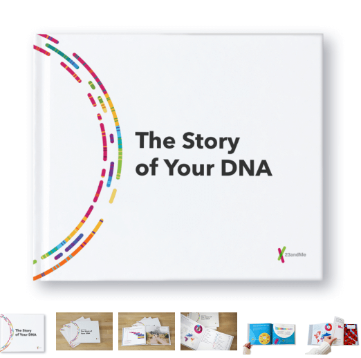 MyHeritage vs 23andMe vs Ancestry review --23andMe booklet