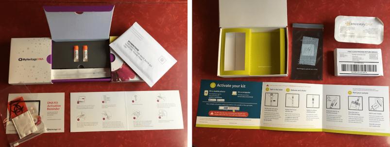 MyHeritage vs AncestryDNA - test kits