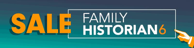 Family Historian 6 Black Friday Deal