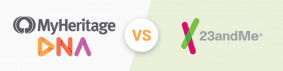 MyHeritage vs 23andMe - 2021 테스트에서 밝혀진 큰 정확성 차이