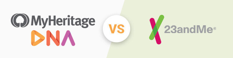 MyHeritage vs 23andMe – Mari carențe de precizie la testele din 2021