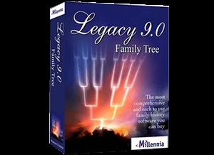 Legacy 9.0 Family Tree