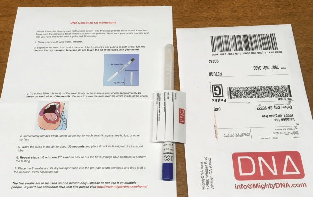 MightyDNA Sample Submission Process
