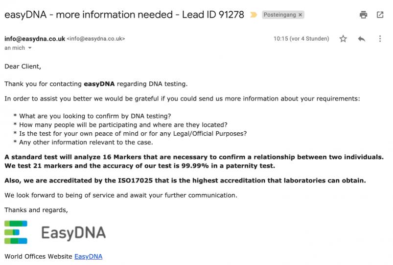 EasyDNA Review