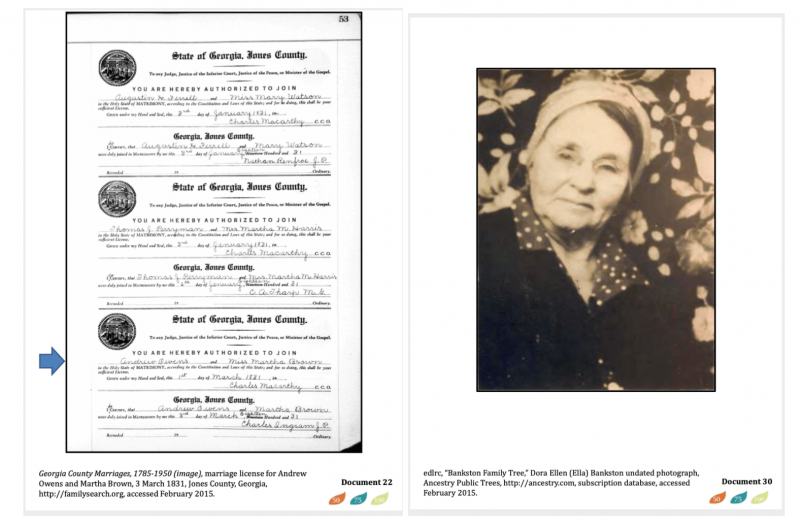 Additional Documents from a Legacy Tree Genealogists Research Report