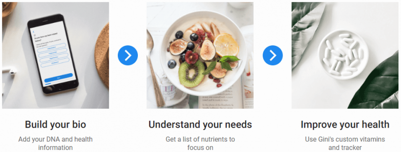 Gini Health Results: First, Build Your Bio; Then, Understand Your Needs; Finally, Improve Your Health