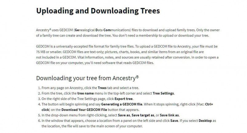 You can download and import any existing family tree data into Legacy 9.0 by downloading a GEDCOM file, saving you lots of time and energy