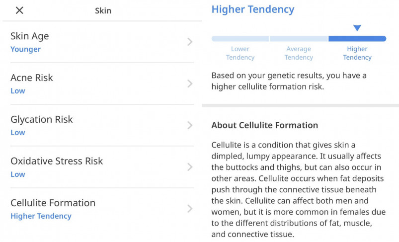Skin Report from Circle DNA