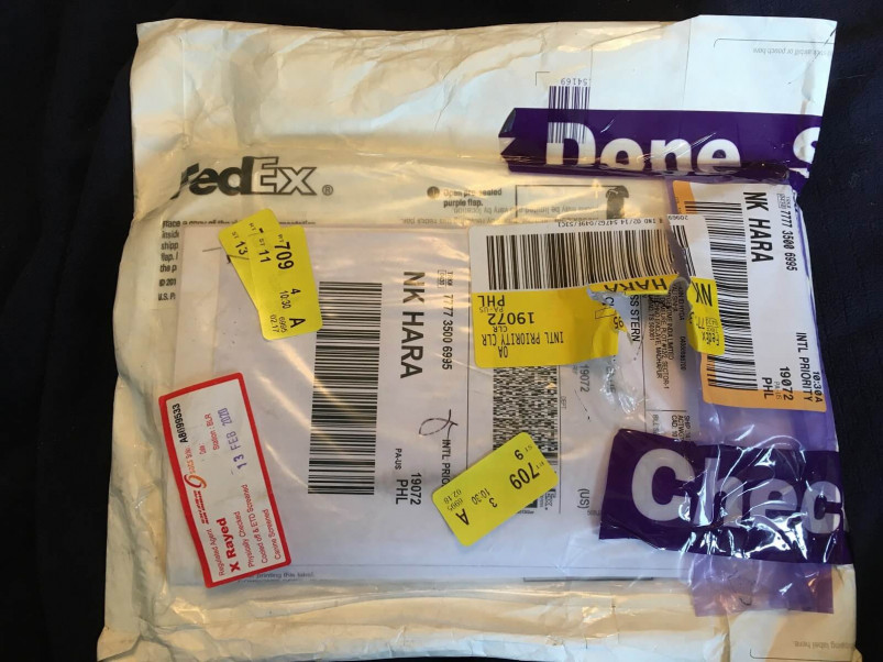 Mapmygenome's Test Kit Is Mailed from India via FedEx