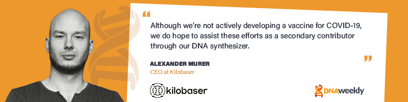 Meet Kilobaser - The Espresso Machine Of DNA Synthesis