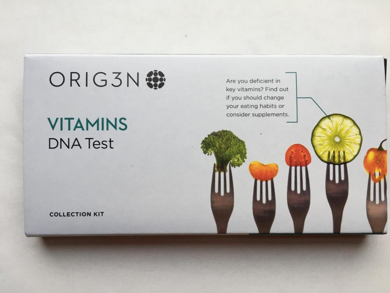 My Orig3n Vitamins test kit