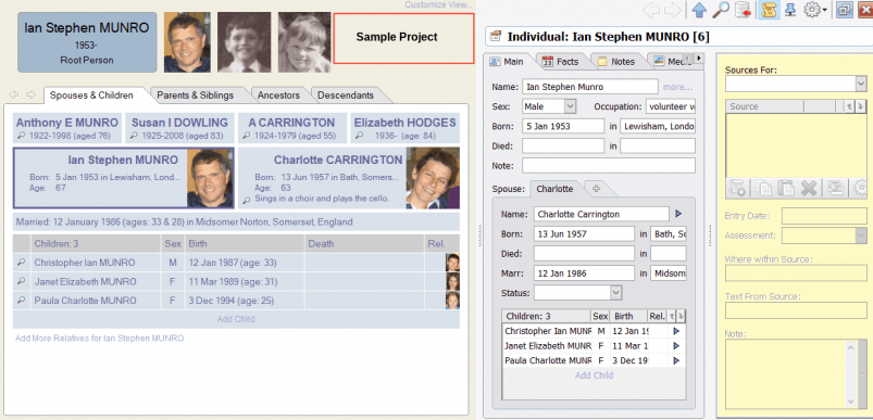 Family Tree Builder Software - Simple-to-use, but Poor Compatibility