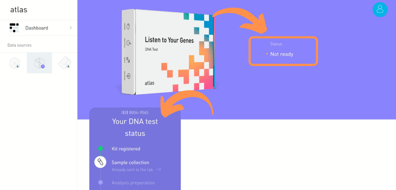 Atlas Biomed DNA test status
