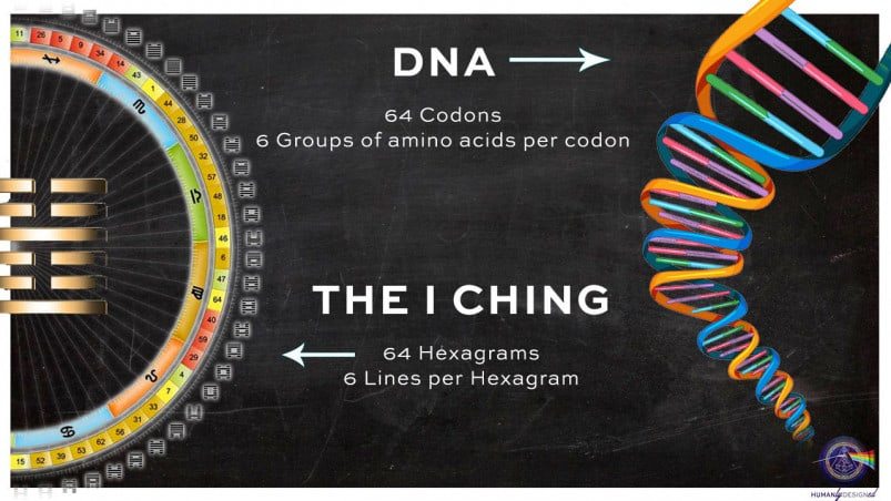 DNA and the I-Ching