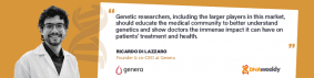 Promoting Self-Care with Genera's Direct-to-Consumer Genetic Testing