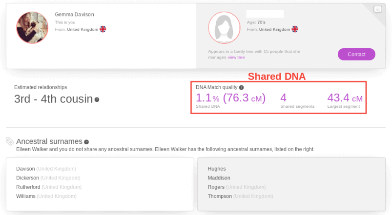MyHeritage Reviewing DNA Matches