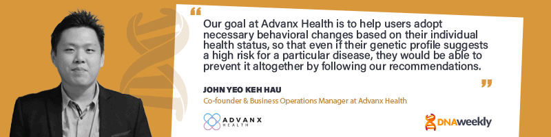 Optimize Your Diet And Lifestyle With Advanx Health Combined Testing And Analysis